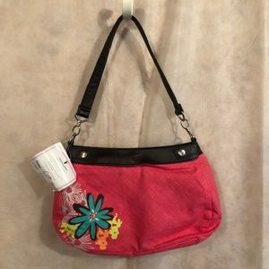 #D7 Thirsty-One Cotton Pink Handbag